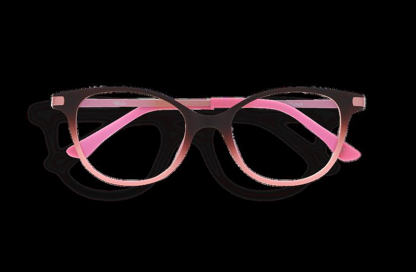 Gafas graduadas niños MAGIC 31 BLUE BLOCK marrón/rosa - danio.store.product.image_view_face