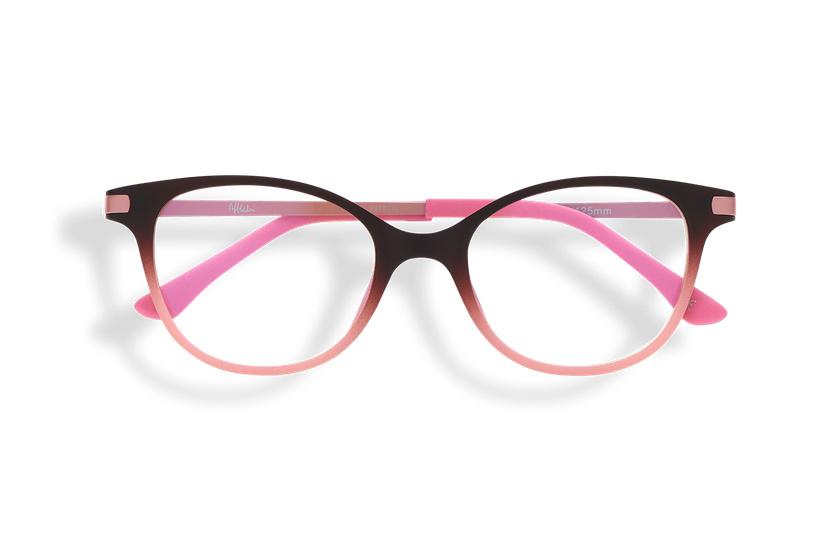 Gafas graduadas niños MAGIC 31 BLUE BLOCK marrón/rosa - danio.store.product.image_view_face