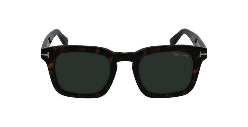 Gafas de sol hombre DAX marrón - vista de frente