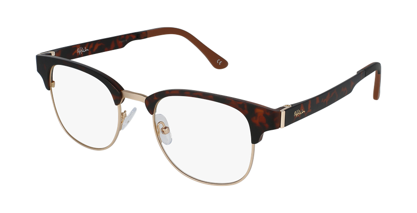 Gafas graduadas MAGIC 34 BLUE BLOCK carey/dorado - vue de 3/4