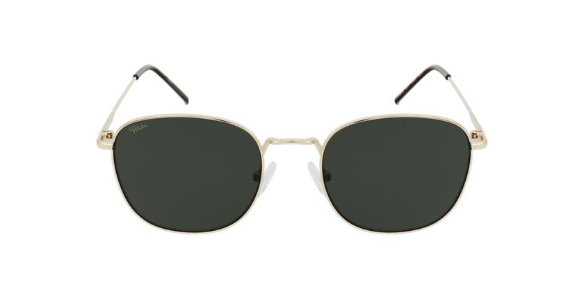Gafas de sol MASNOU dorado - vista de frente