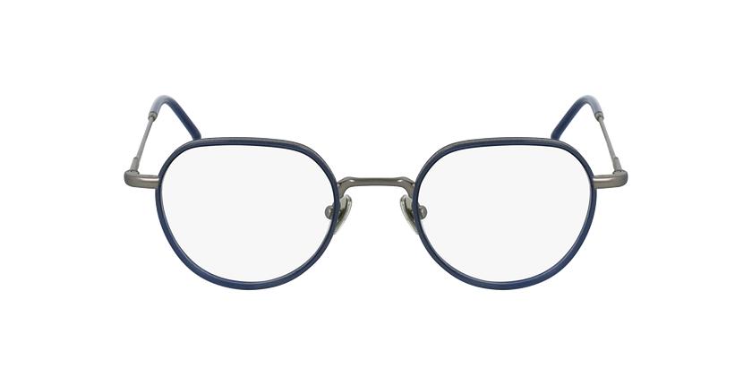 Gafas graduadas DEBUSSY azul/plateado - vista de frente