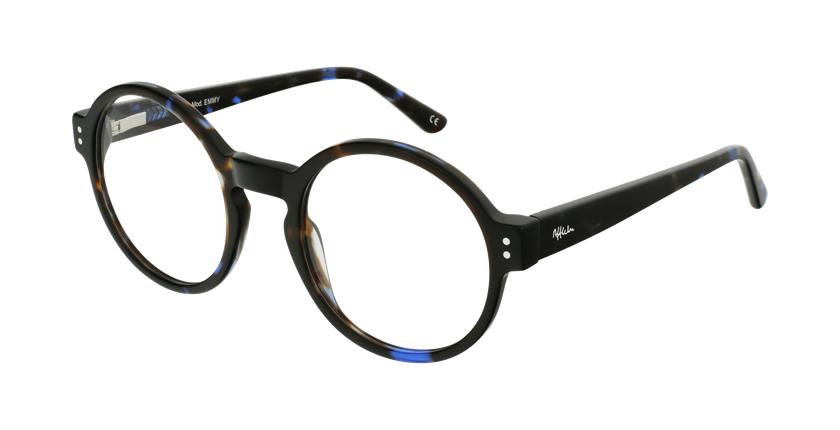 Gafas graduadas EMMY carey/azul - vue de 3/4