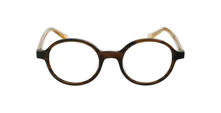 Gafas graduadas mujer OAF21619 marrón - vista de frente
