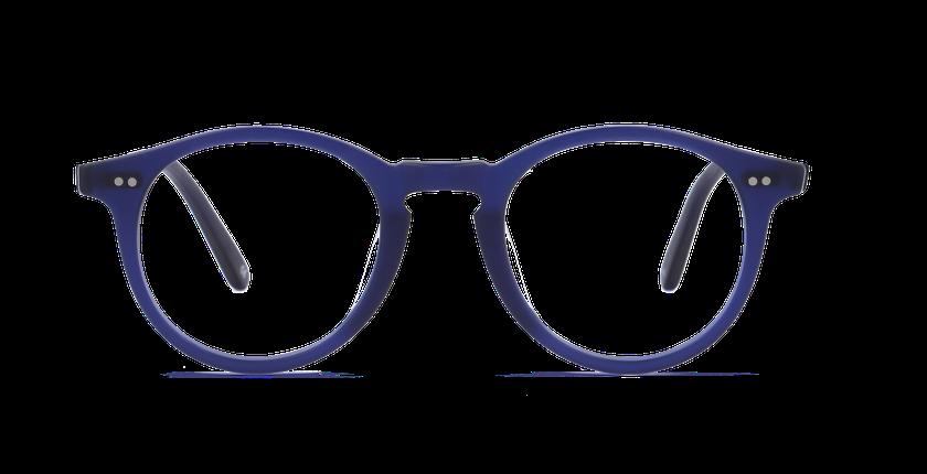 Gafas graduadas hombre CANBERRA azul - vista de frente