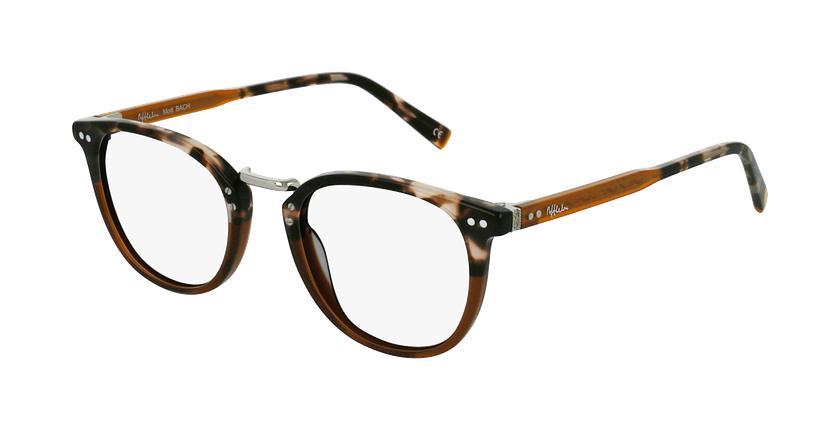 Gafas graduadas BACH marrón - vue de 3/4