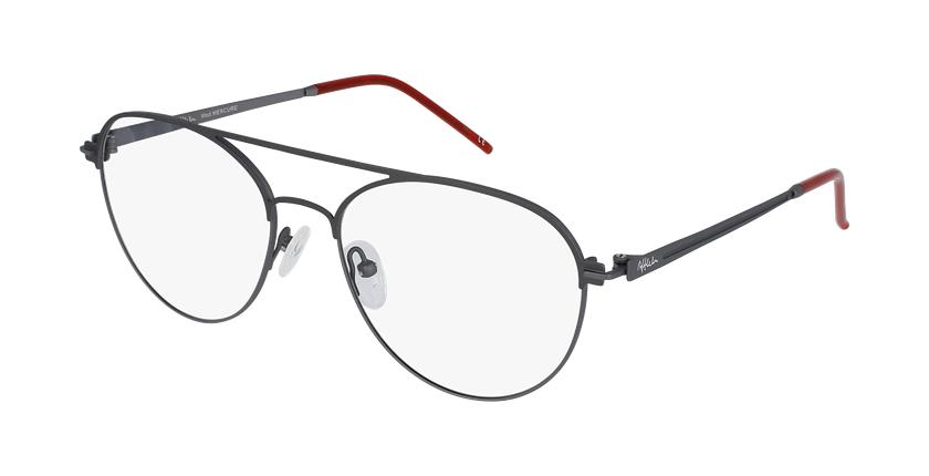 Gafas graduadas hombre MERCURE gris - vue de 3/4
