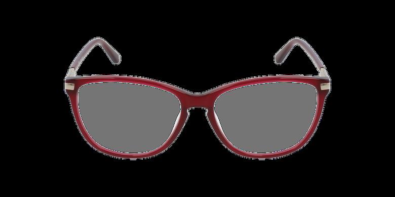 Gafas graduadas mujer OAF20520 rojovista de frente