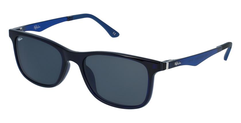 Gafas de sol hombre MAGIC 24 BLUE BLOCK azul - vue de 3/4