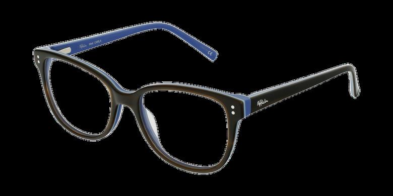 Gafas graduadas niños CARLA marrón/morado