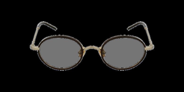 Gafas graduadas PUCCINI dorado/rojovista de frente