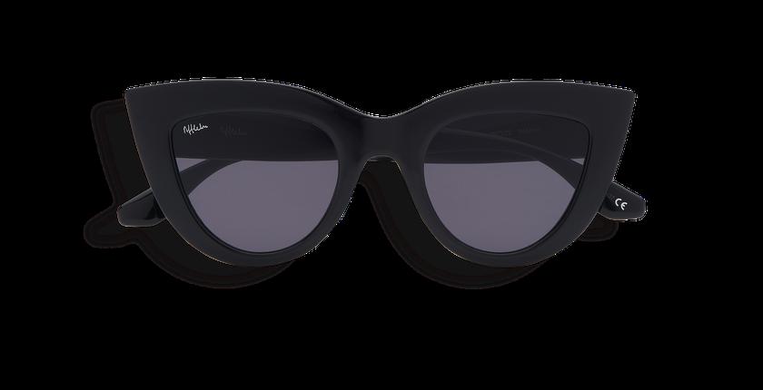 Gafas de sol mujer MARIPOSA negro - vista de frente