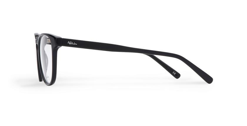 Gafas graduadas hombre BLAISE negro - vista de lado