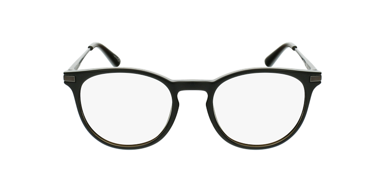 Gafas graduadas niños ANTONIN negro/plateadovista de frente