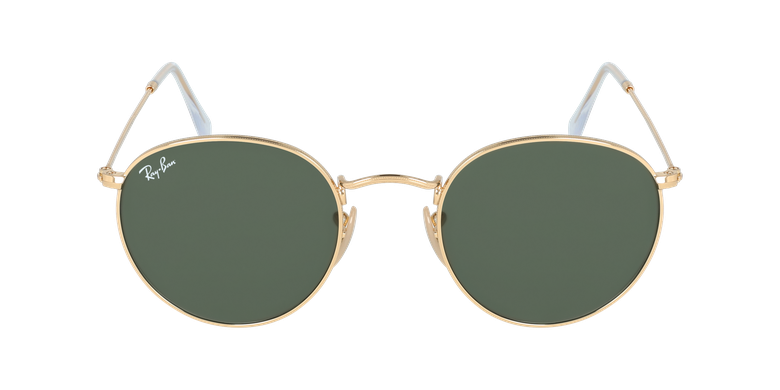 Gafas de sol ROUND METAL marrón