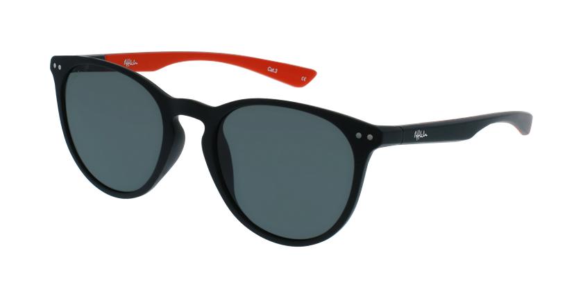 Gafas de sol BARTH negro/rojo - vue de 3/4
