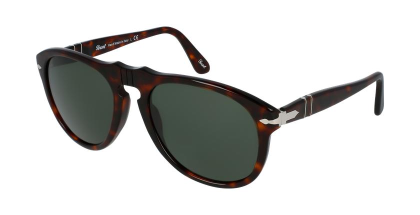 Gafas de sol hombre 0PO0649 marrón - vue de 3/4