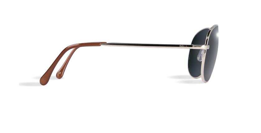 Gafas de sol hombre CADIZ negro/dorado - vista de lado