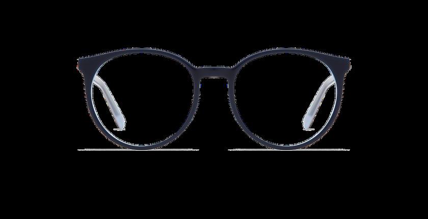 Gafas graduadas mujer ALEXIA azul - vista de frente