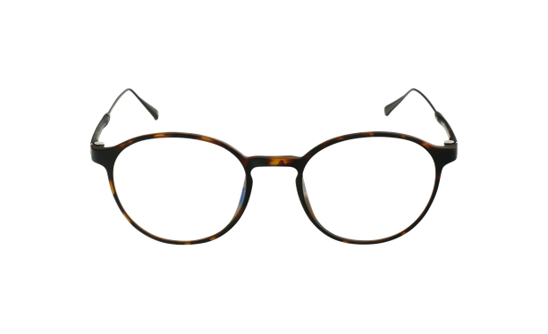 Gafas graduadas MAGIC 65 carey/plateado - vista de frente