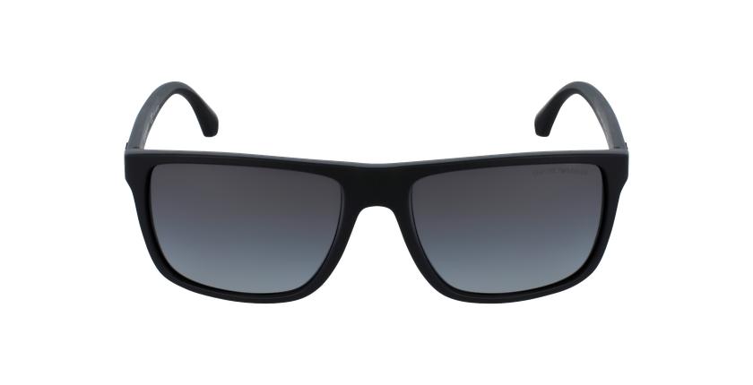 Gafas de sol hombre 0EA4033 negro/gris - vista de frente