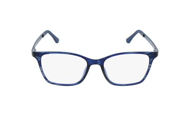 Gafas graduadas mujer MAGIC 60 BLUEBLOCK azul/morado - vista de frente