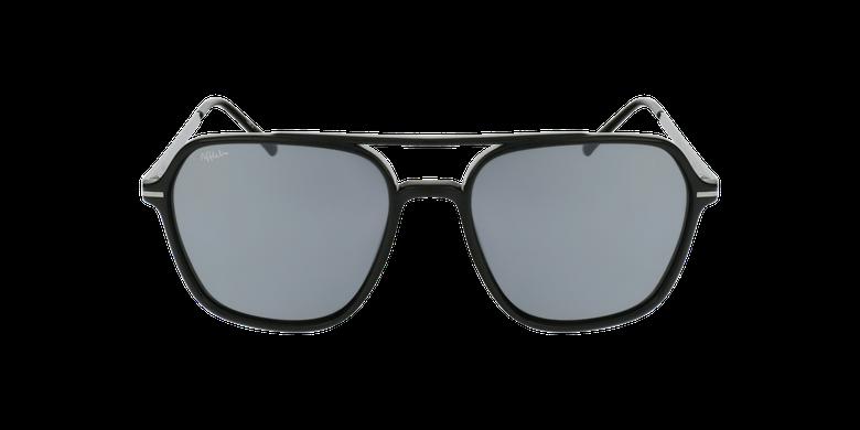 Gafas de sol hombre IBANEZ negro/grisvista de frente