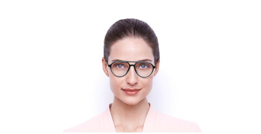 Gafas graduadas MAGIC 75 azul/carey - vista de frente