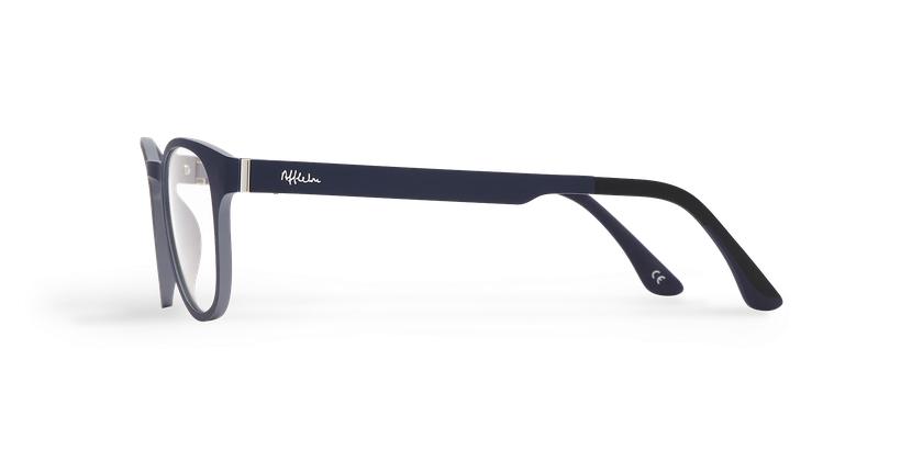 Gafas graduadas hombre MAGIC 03 azul/gris - vista de lado