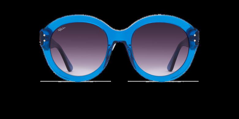 Gafas de sol mujer ALYSSA azulvista de frente