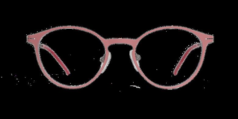 Gafas graduadas mujer OXYGEN rosa/plateadovista de frente