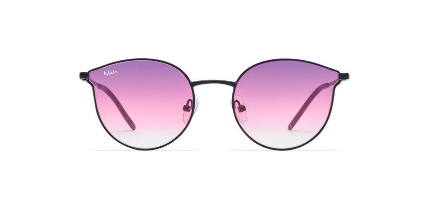 Gafas de sol mujer MELROSE negro - vista de frente