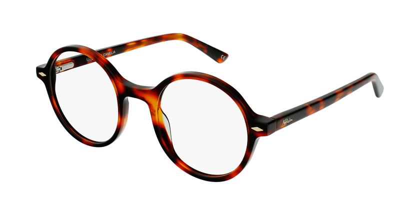 Gafas graduadas CAMELIA carey/marrón - vue de 3/4