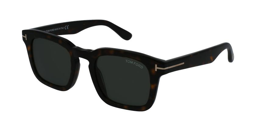 Gafas de sol hombre DAX marrón - vue de 3/4