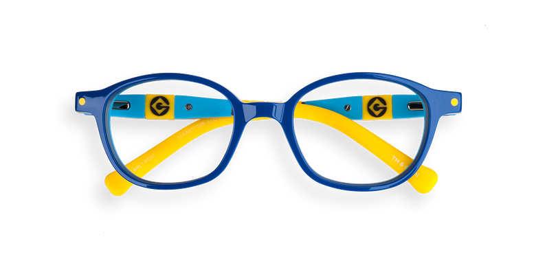 Gafas graduadas niños CARL1 azul/amarillo