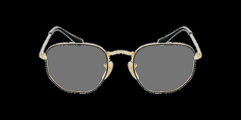 Gafas graduadas 0RX6448 negro/doradovista de frente