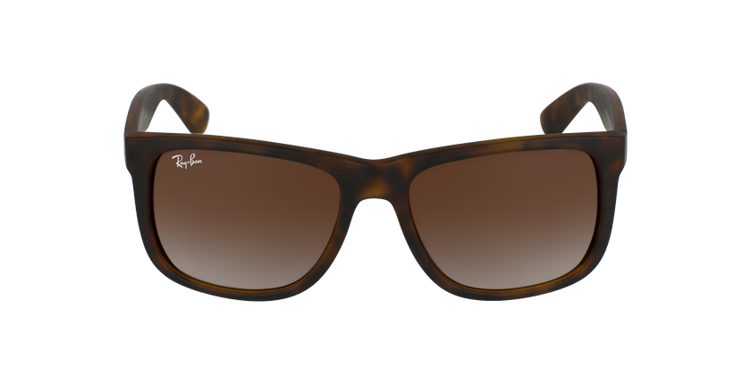 Gafas de sol hombre JUSTIN marrón/negro - vista de frente