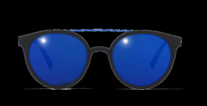 Gafas de sol hombre LAGOS negro/azul - vista de frente