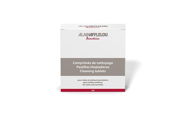 Comprimidos efervescentes de limpieza para moldes - 20 Unidades - vista de frente