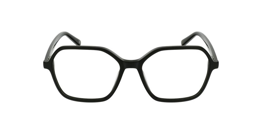 Gafas graduadas mujer GARANCE negro - vista de frente
