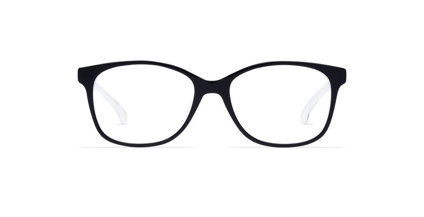 Gafas graduadas mujer DOTTIE negro - vista de frente