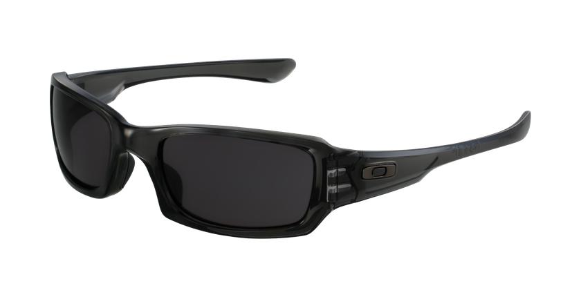 Gafas de sol hombre FIVES SQUARED negro/negro - vue de 3/4