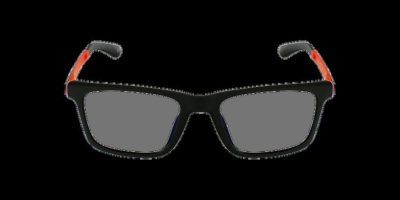 Gafas graduadas niños MAGIC 64 negro/naranjavista de frente
