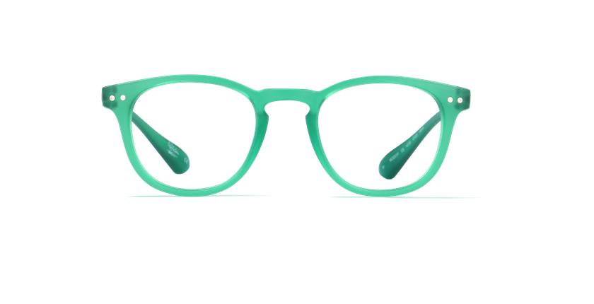 Gafas graduadas BLUE BLOCK MIXTE verde - vista de frente