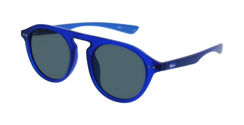 Gafas de sol BORNEO azul/azul - vue de 3/4