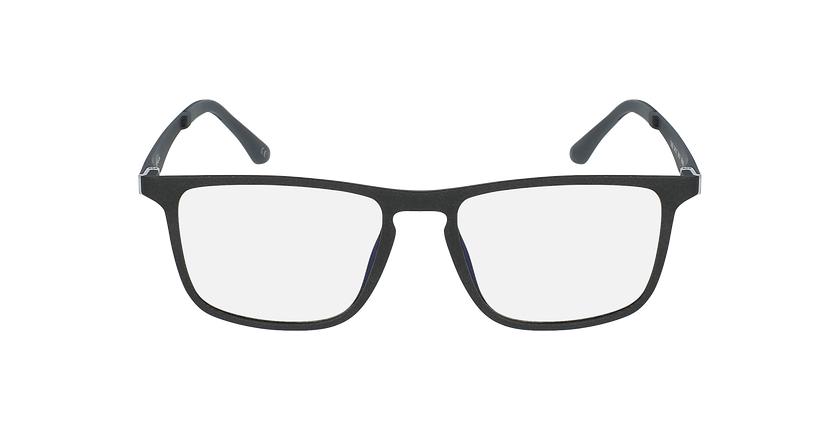 Gafas graduadas hombre MAGIC 38 BLUEBLOCK negro - vista de frente