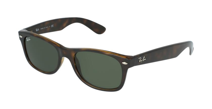 Gafas de sol hombre NEW WAYFARER marrón - vue de 3/4