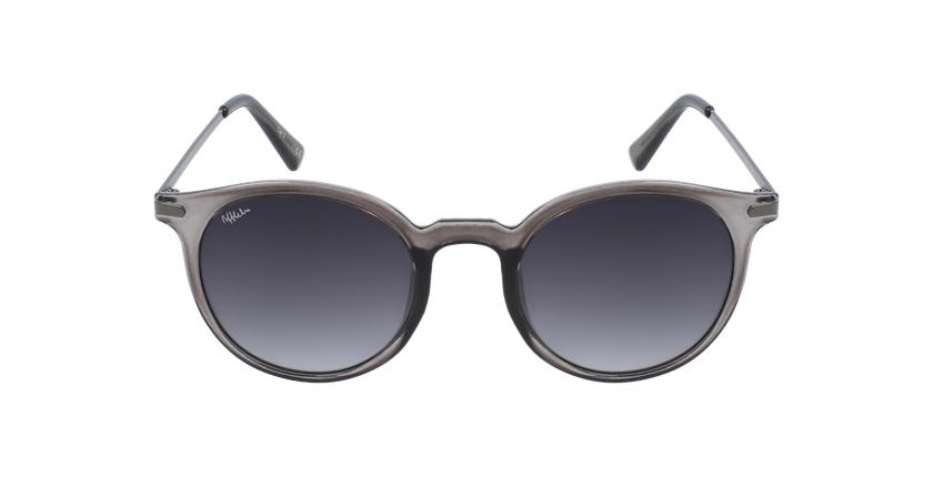 Gafas de sol mujer JAIME transparente/gris - vista de frente