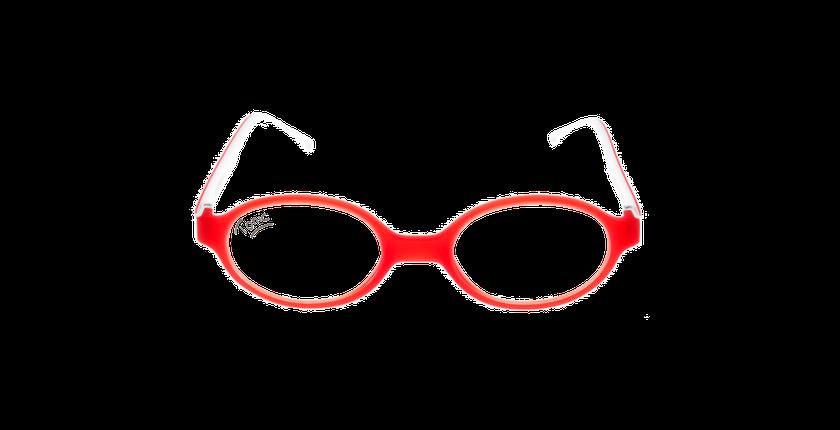 Gafas graduadas niños LIGHT TONIC rojo - vista de frente