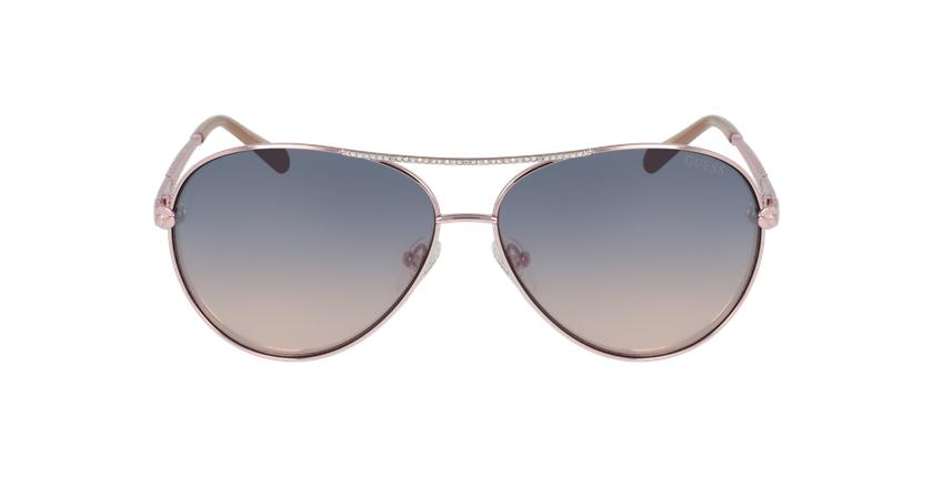 Gafas de sol mujer GU7470-S dorado - vista de frente